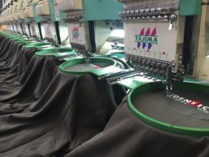 Borduren bij Identico Bedrijfskleding